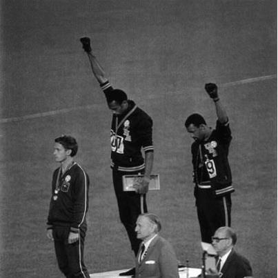 Tommie Smith and John Carlos - Olympic Games 1968, Mexico City