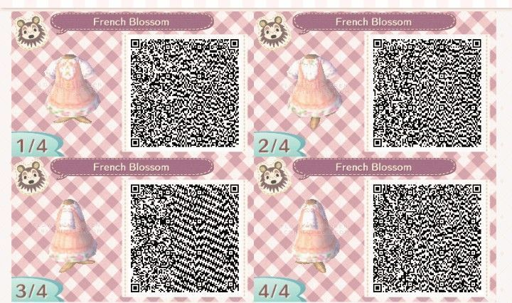 Codigo Qr Del Vestido De La Flor Francesa Acnl Acnlhair Nuevas Ideas Acnl Acnlhair Florecer C In 2020 Animal Crossing Qr Qr Codes Animals Animal Crossing 3ds