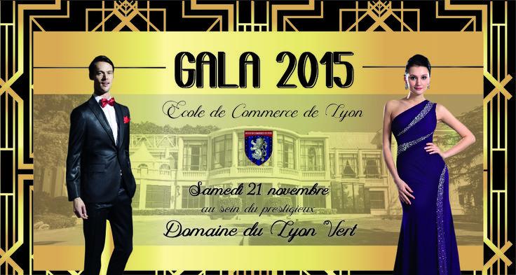 Dans le cadre de la remise des diplômes, l'Ecole de Commerce de Lyon organise son gala et vous invite à passer un moment d'exception au Domaine du Lyon Vert. http://ecole-de-commerce-de-lyon.fr/gala-ecole-commerce-lyon-2015/