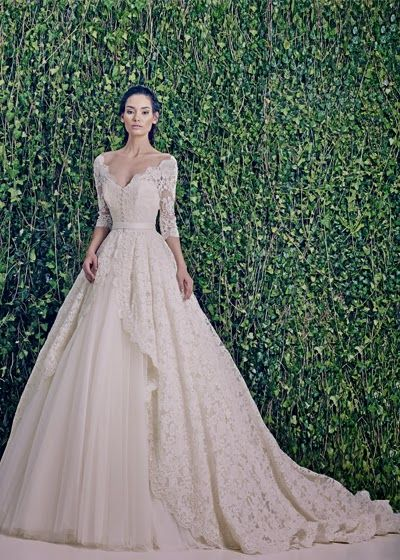 Aisle Perfect Wedding Blog . Daily Wedding Inspiration for the Discerning Bride: Wedding Dresses: Zuhair Murad Bridal Fall 2014