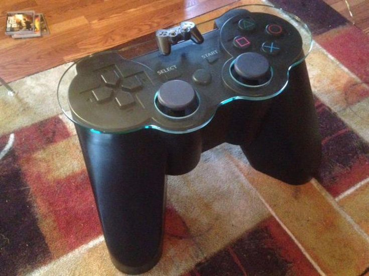 Huge PlayStation controller table levels up your living room