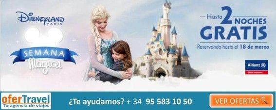 OferTravel. Tu viaje a Disney.