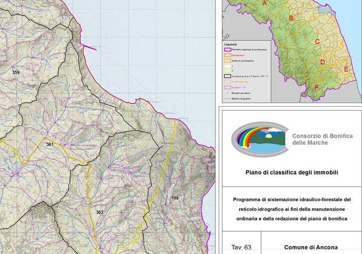 Analisi GIS per il Piano di Classifica degli Immobili del Consorzio di Bonifica delle Marche, Ancona, 2014 - GeoInformatiX, Alberto Antinori