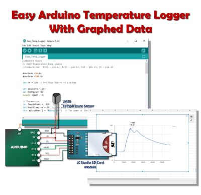 Easy Arduino Temperature Logger