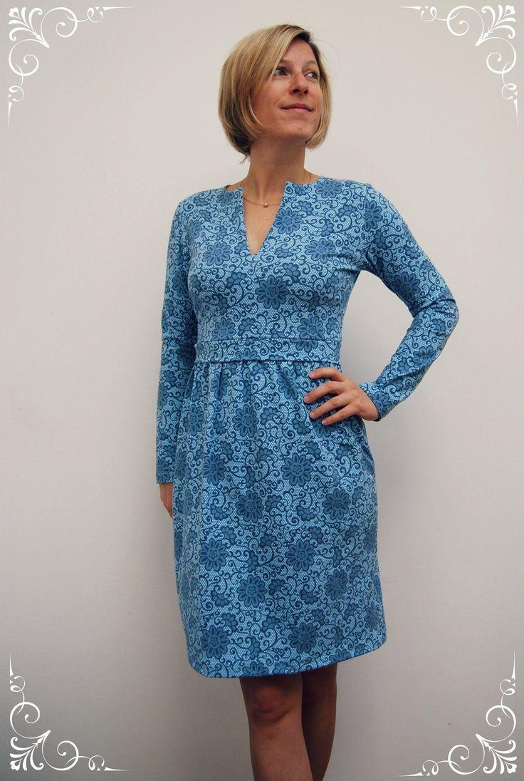 elisabeth | kleid nähen, schnittmuster kleid, kleider damen