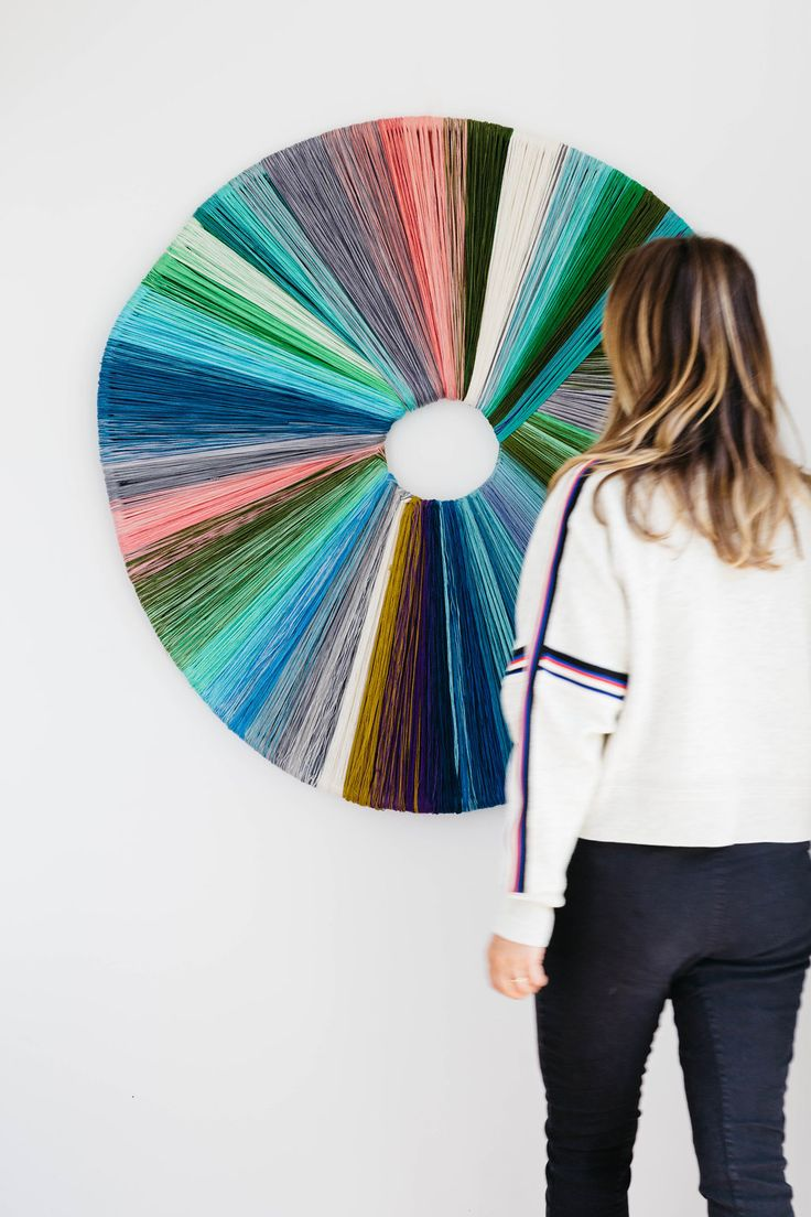 How unique is the work of artist Tammy Kanat? So incredible. Click through for more incredible female artists you should be following right now. #artist #femaleartist #artwork #abstractart #fiberart
