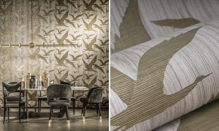 Ligna | Arte International | Biggelaar | Behang | Wallpaper | wonen | Interieur | Breda - Verf & Wand