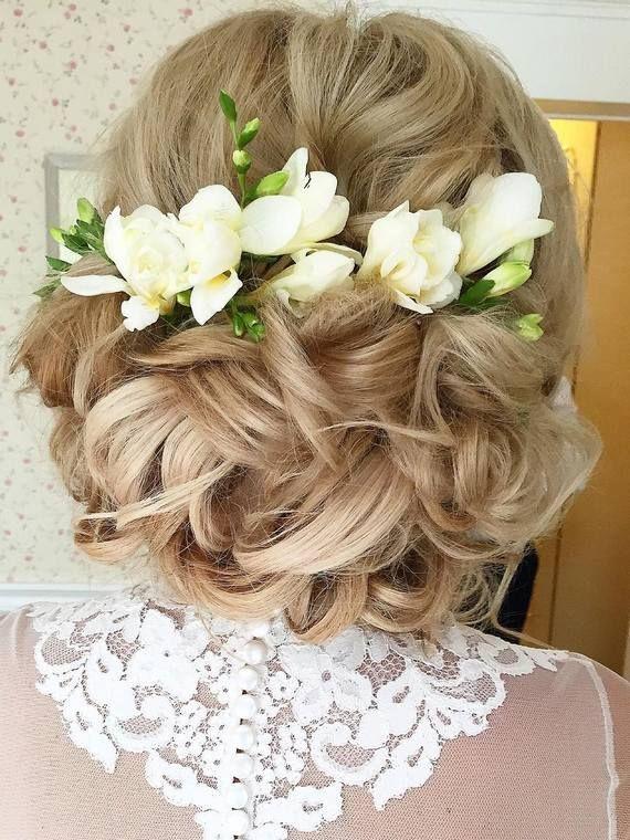 Long wedding hairstyles and wedding updos from Websalon Weddings / http://www.deerpearlflowers.com/websalon-weddings-wedding-hairstyles-and-updos/2/