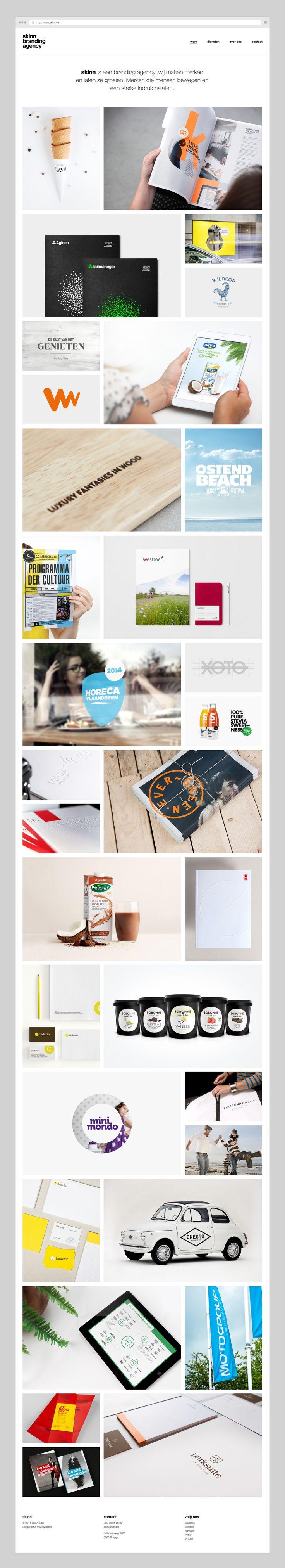 Website by skinn branding agency