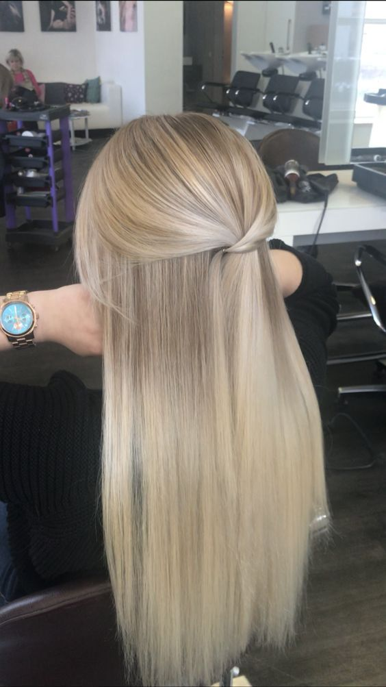 Winter hair color for blondes you can not imagine – Winter