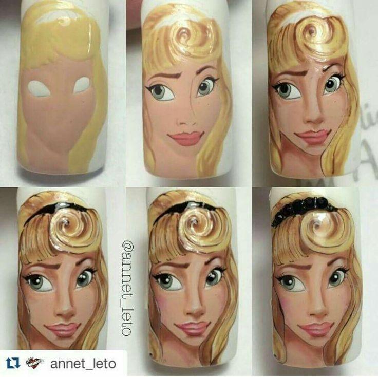 Nail art tutorial nailartangel.over-blog.com #nailart