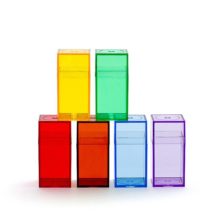 How can little coloured boxes be so simply delicious!!! Original Amac - boxes 6pce set - rainbow.