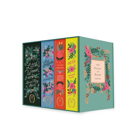 The Puffin in Bloom Collection -- Puffin in Bloom: A collection of classics with stunning cover art by renowned stationery brand Rifle Paper Co.'s principal artist, Anna Bond, includes: Anne of Green Gables, Heidi, Little Women, and A Little Princess