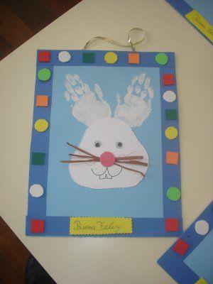 handprint bunny