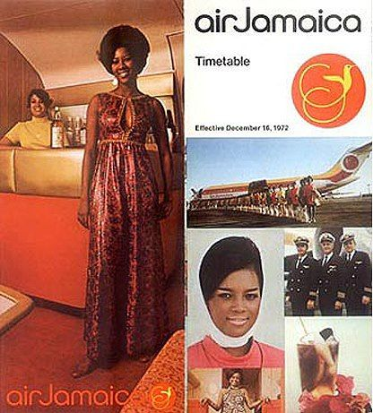 Air Jamaica 1972 Timetable -- https://www.facebook.com/VintageAirliners