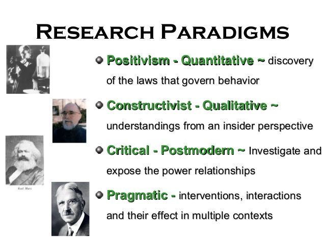 what is research paradigm in thesis
