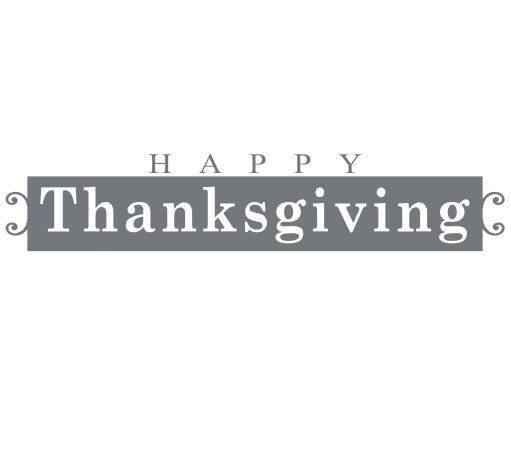 Happy Thanksgiving vinyl decal for plates, containers, windows, and more by QuiteLikeHome on Etsy