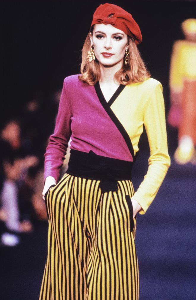 Défilé Sonia Rykiel printemps-été 1991