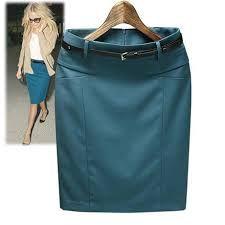 Resultado de imagen para faldas de caqui