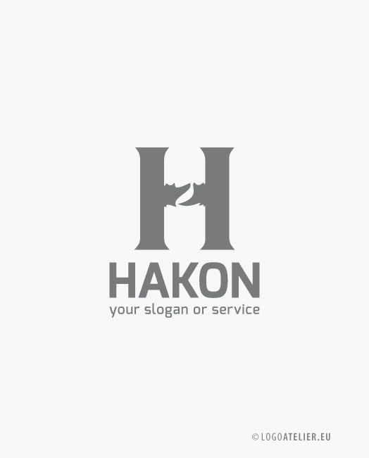 EXKLUSIVES Buchstaben Logo H Logo Verbindungen ||