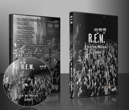 REM live in Milan Italy 7-26-08 on DVD