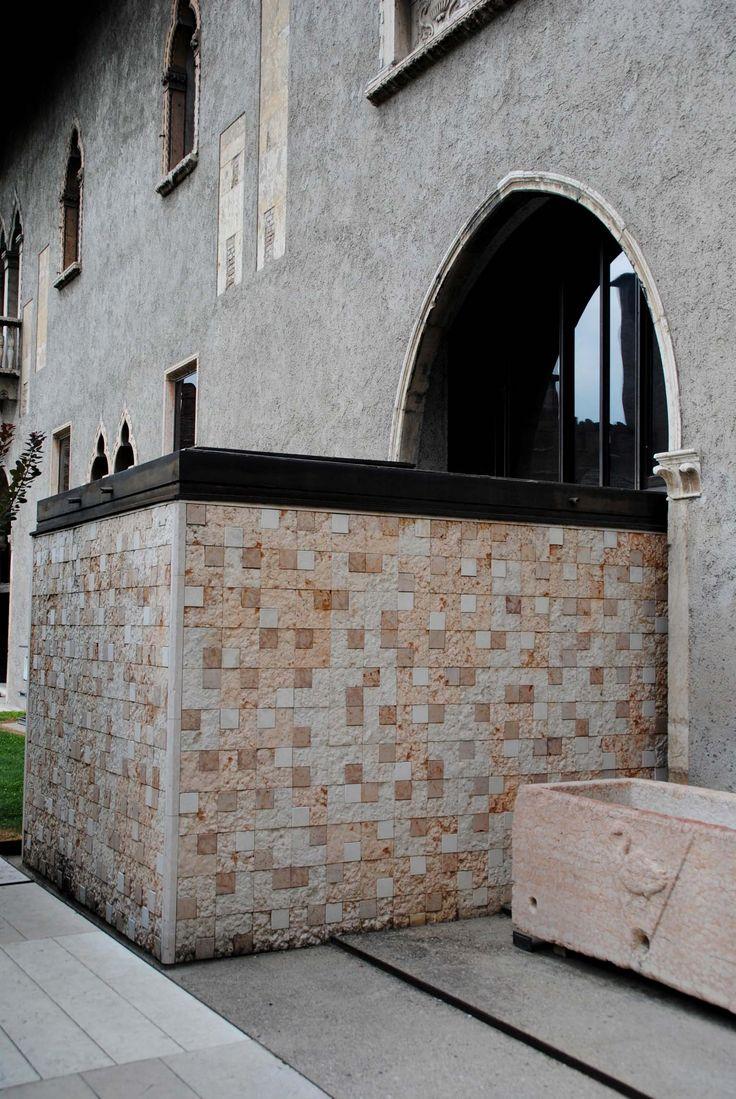 Il Museo Castelvecchio in Verona Italy - extension by Carlo Scarpa