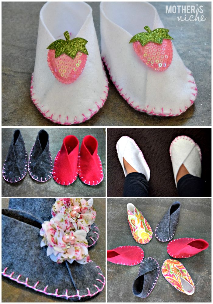 I can't sew worth a dime, but these were the Easiest Baby Project EVER. And so cheap. Don't ever pay money for baby shoes again!