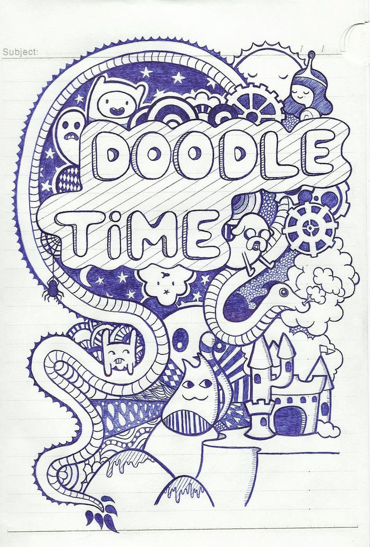 Doodle Time by Dalia1991 on deviantART