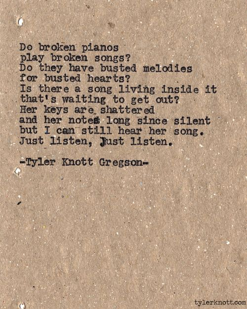 Typewriter Series #502 by Tyler Knott Gregson