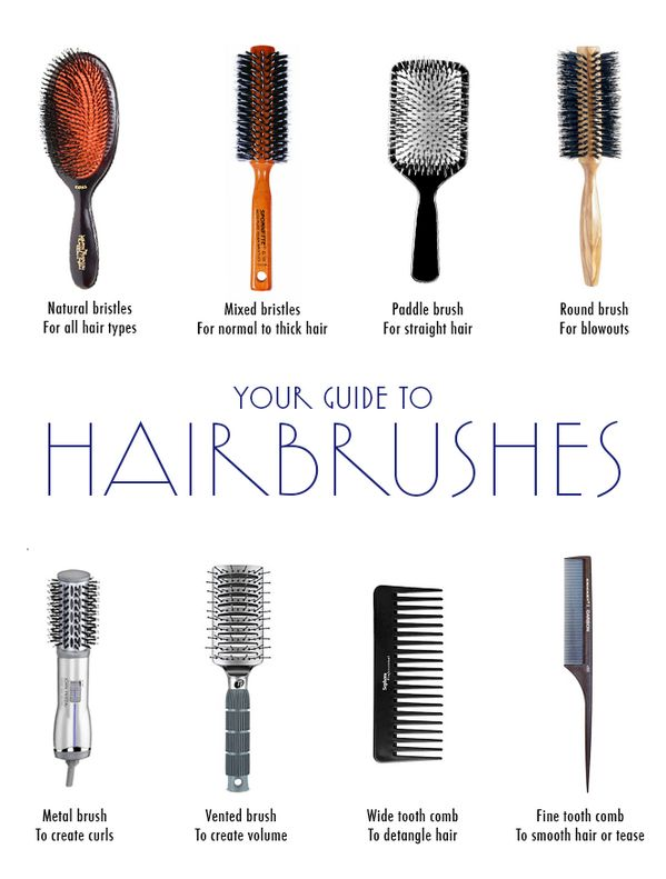 Your guide to #hairbrushes for the best care for #hair possible! Shop at www.beautiesfactory.co.uk/hair-styling-tools.html