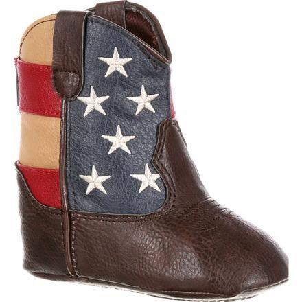 http://rubies.work/0044-gold-flower/ Durango Baby Western Flag Boot [DBT0152]