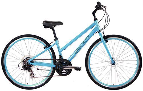 Gravity Swift21 LTD Hybrid Bicycles V Brake Super Hybrid Ladies Bikes with Custom Color Rims