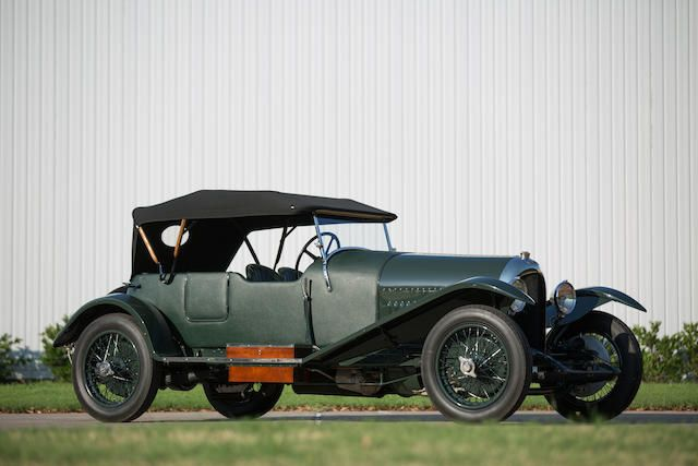 <b>1925 Bentley 3 LITER FOUR SEATER TOURER</b><br />Chassis no. 777<br />Engine no. 787