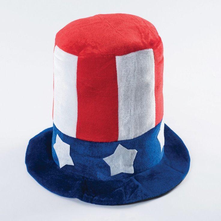 Uncle Sam USA Hat dazzle-dancewear.co.uk