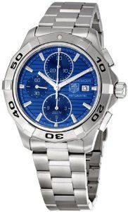 Men's CAP2112.BA0833 Aquaracer Chronograph Watch from TAG Heuer at the LuxuryTickers.com