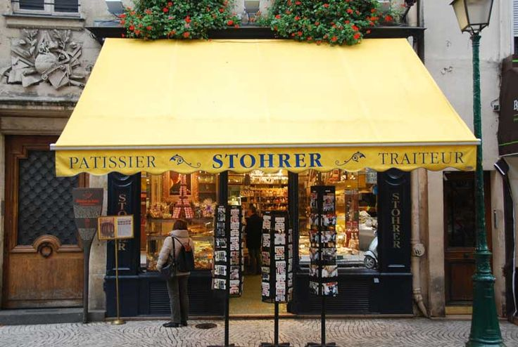 Great cakes, great shop, great street!  Stohrer, 51, rue montorgueil - 75002 Paris