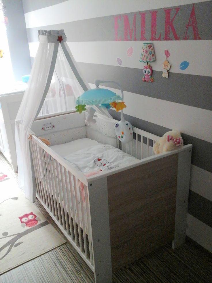 białe łóżeczko tapczanik 140x70