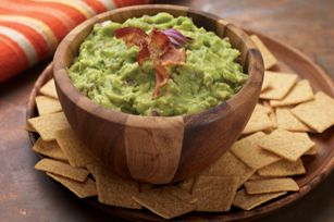Some gals just must have bacon. Go ahead and whip up this Bacon Guacamole Dip. Serve with WHEAT THINS Crackers.