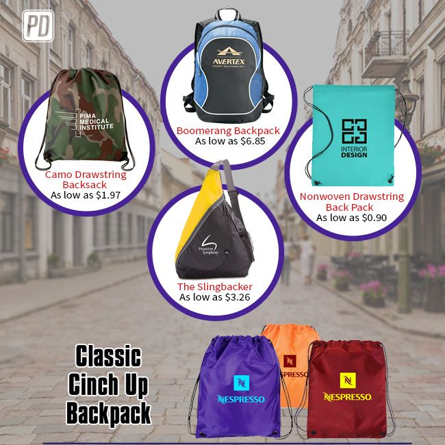 Time to save big at the #1 Rated Promotional Product store!  Save BIG on our logo imprinted promotional bags!