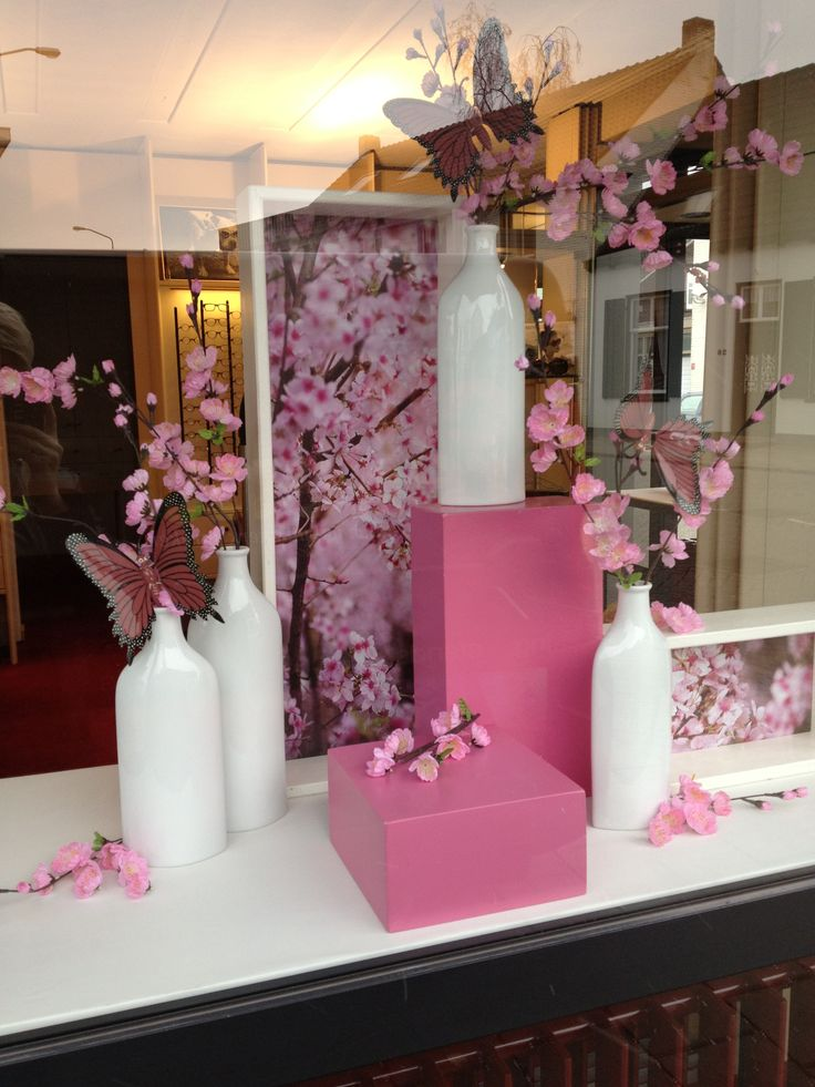 25 best ideas about spring window display on pinterest for Salon xmas decorations