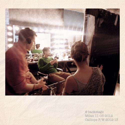 Sam Webb's #interview @backstage FW12/13 Milan