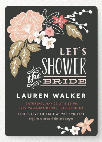 Pin By Michaela Gossett On Bridal Shower In 2019 Pinterest Invitations And Wedding