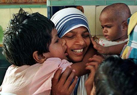 volunteering with missionaries of charity in Kolkata.  A humbling and eye-opening experience.  Absolutely incredible.