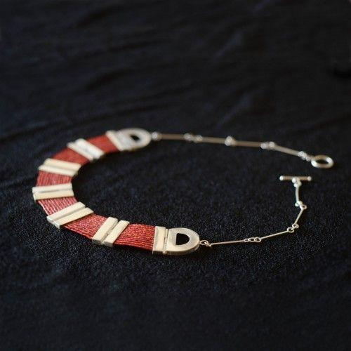 Collar Étnico (Premio Unesco) Tienda:Marta Morrison Modelo: Plata Precio: $169.000  Ver aquí: http://bit.ly/1eGofiQ