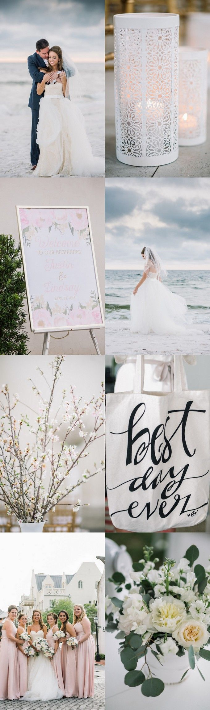 Romantic Elegant Rosemary Beach Wedding Dear WesleyAnn