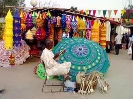 Delhi Haat - Fabulous craft market in Delhi but hot hot hot.  Go in the evening