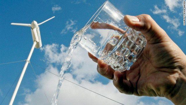 Anuncian una turbina eólica capaz de convertir 1.000 litros de agua al día del aire.