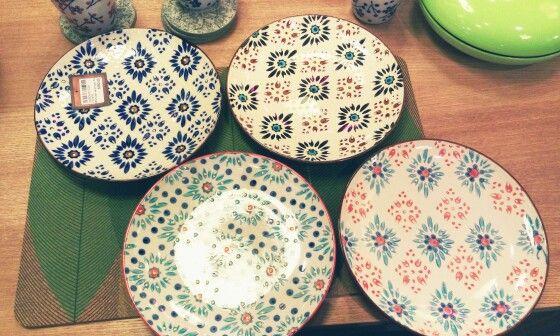 Pretty geometric plates
