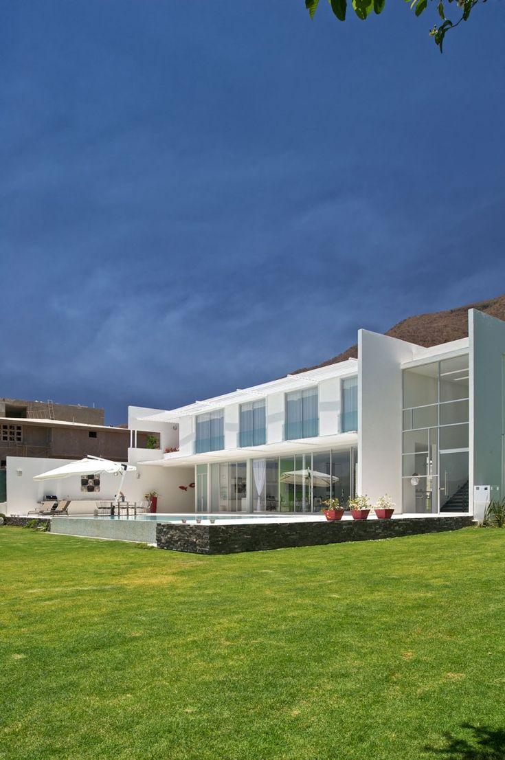 SJC House by Agraz Arquitectos in San Juan Cosala, Jalisco, Mexico.