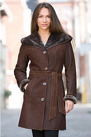 1000  images about Sheepskin Coats on Pinterest | Spanish Hooded